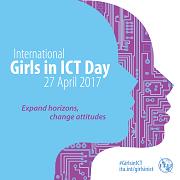Girls in ICT 2018 logo