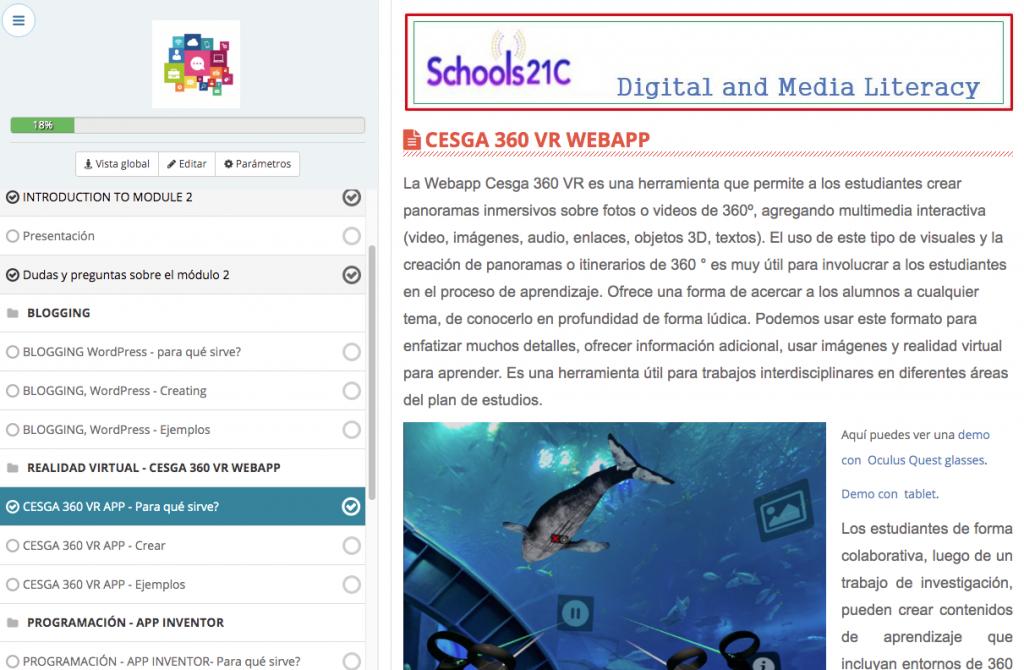 Schools21C course